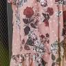 vestido paola estampa exclusiva jany pim costas baixo detalhe
