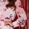vestido andreia estampa exclusiva jany pim frente cima detalhe