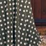 vestido amelia estampa exclusiva jany pim costas baixo detalhe
