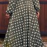 vestido amelia estampa exclusiva jany pim costas baixo