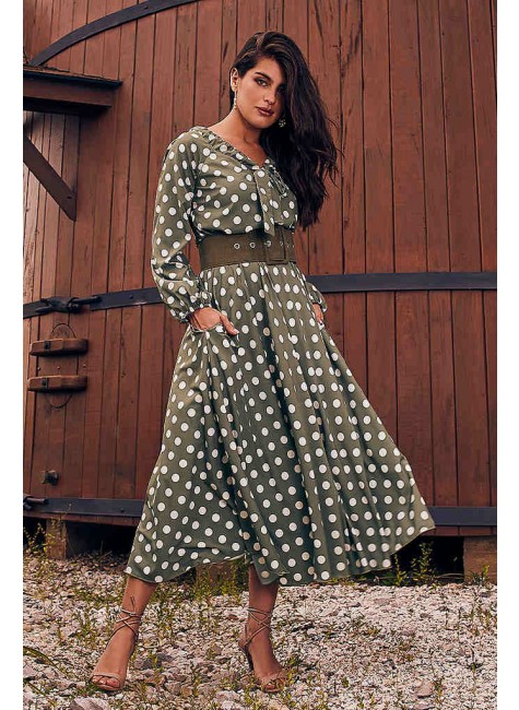 vestido amelia estampa exclusiva jany pim frente