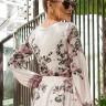 vestido jessica midi estampa exclusiva jany pim costas cima