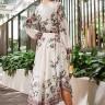 vestido jessica midi estampa exclusiva jany pim costas