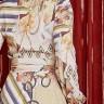 vestido rebeca estampa exclusiva costas cima detalhe