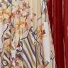 vestido rebeca estampa exclusiva costas baixo detalhe