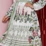 vestido lorayne estampado mangas longas plissado jany pim frente baixo easy resize com