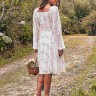 vestido jessica estampado off white jany pim costas