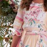 vestido midi graziely estampa exclusiva jany pim frente cima detalhe